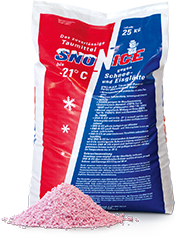 SNO-N-ICE – The de-icing agent against snow and ice